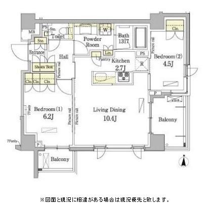 パークアクシス錦糸町・親水公園708号室