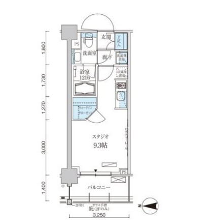 パークアクシス菊川ステーションゲート1004号室