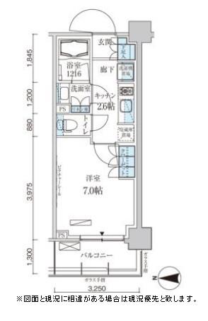 パークアクシス菊川ステーションゲート1107号室