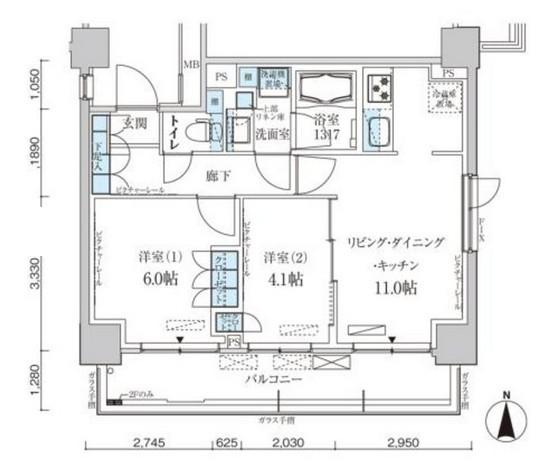 パークアクシス菊川ステーションゲート908号室