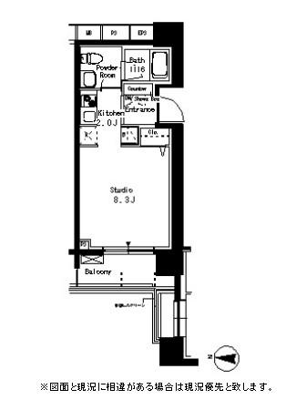 パークアクシス亀戸1210号室