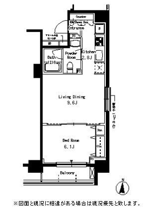 パークアクシス亀戸504号室