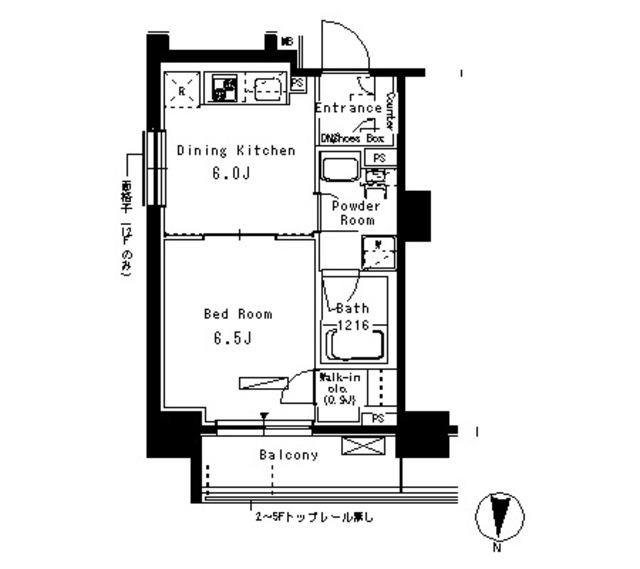 パークアクシス亀戸705号室