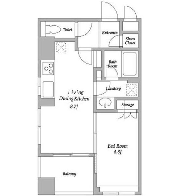HF若松河田レジデンス701号室