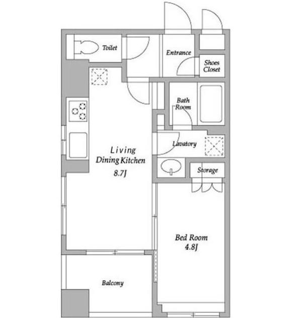 HF若松河田レジデンス901号室
