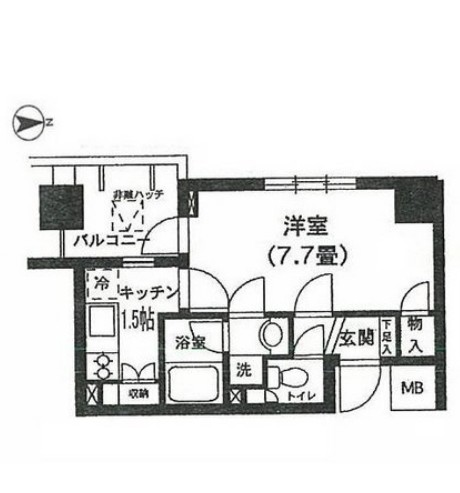 K's新中野1006号室