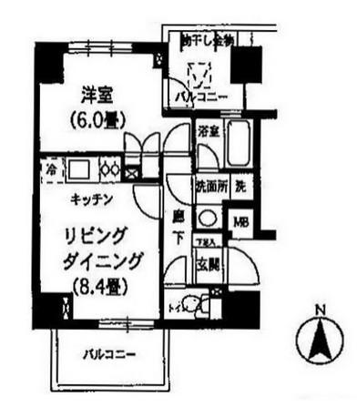 K's新中野1007号室