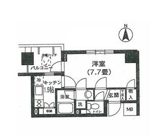 K's新中野306号室