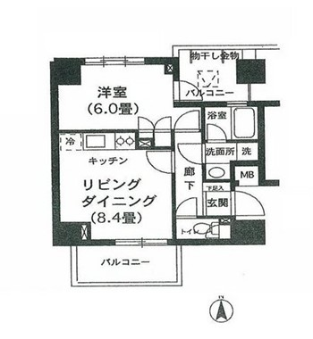 K's新中野307号室