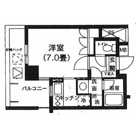 K's新中野708号室