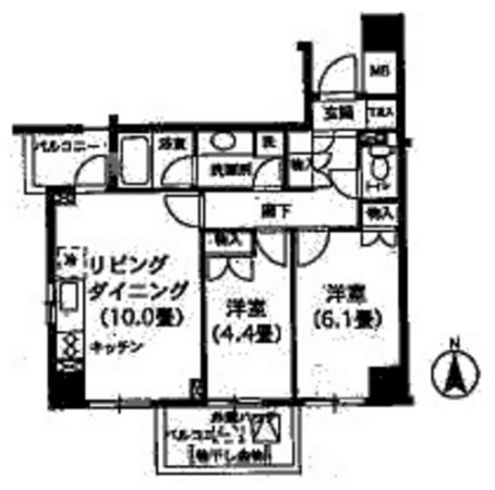 K's新中野901号室