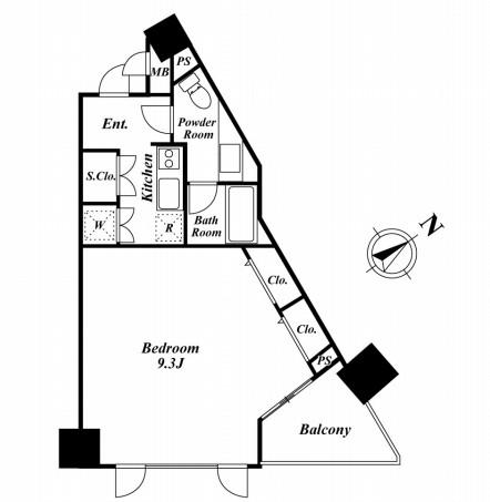 KDXレジデンス品川シーサイド 611号室