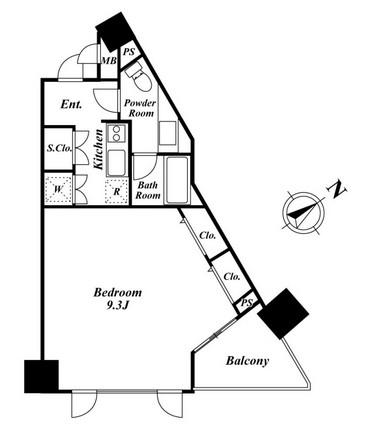 KDXレジデンス品川シーサイド 807号室