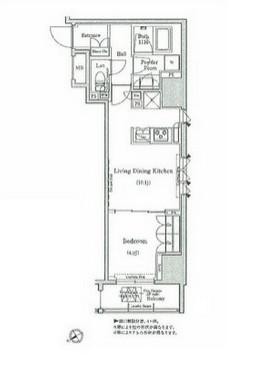コンフォリア浅草橋1306号室