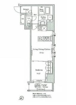 コンフォリア浅草橋1405号室