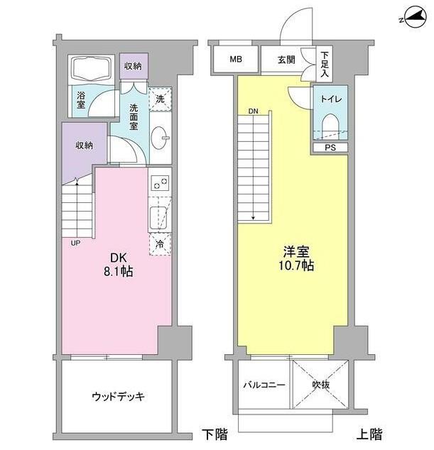 コンフォリア東中野DEUX102号室