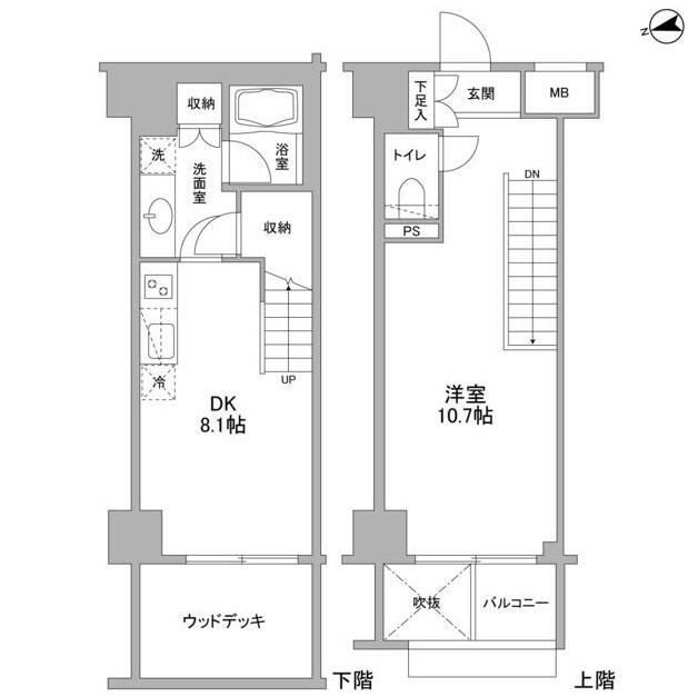 コンフォリア東中野DEUX103号室