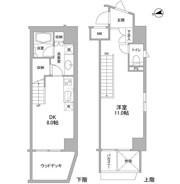 コンフォリア東中野DEUX104号室