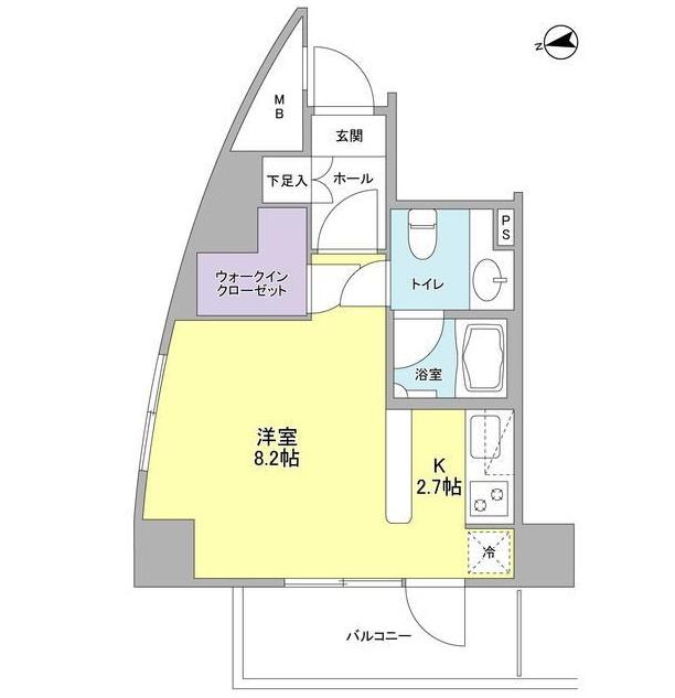 コンフォリア東中野DEUX201号室