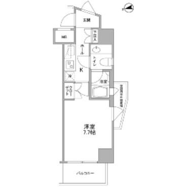 コンフォリア東中野DEUX205号室