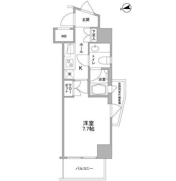 コンフォリア東中野DEUX505号室