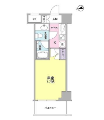 コンフォリア東中野DEUX603号室