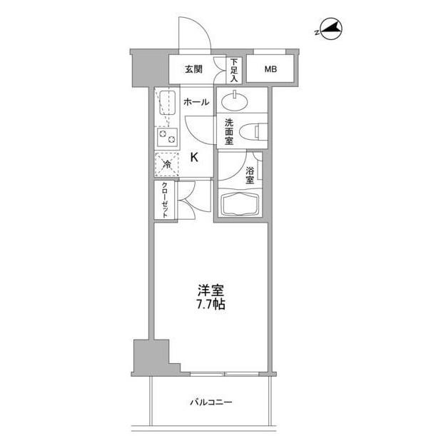 コンフォリア東中野DEUX604号室