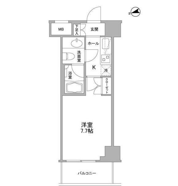 コンフォリア東中野DEUX703号室