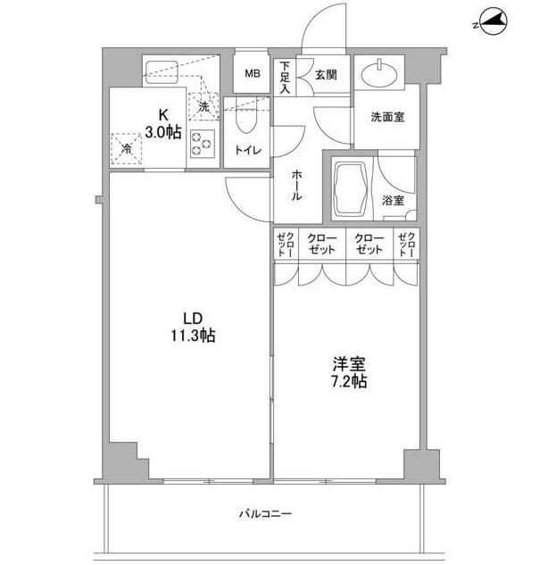 コンフォリア東中野DEUX902号室