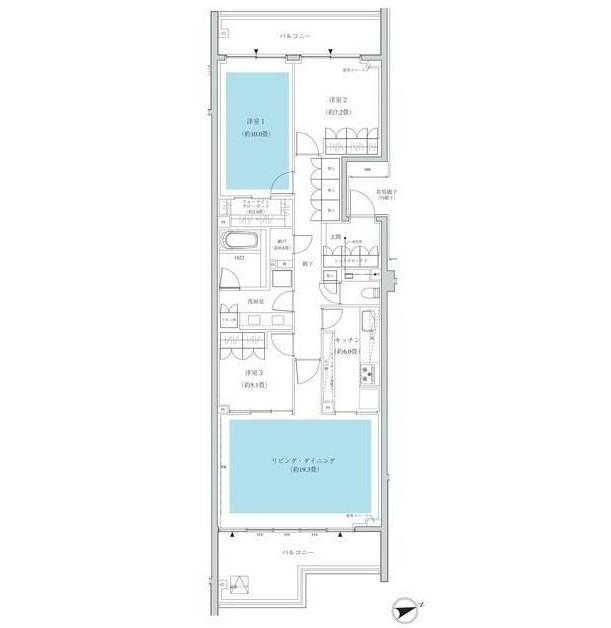 ザ・パークハウス広尾羽澤306号室