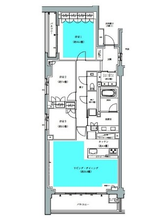 ザ・パークハウス広尾羽澤336号室