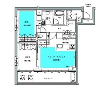 ザ・パークハウス広尾羽澤403号室