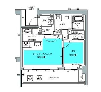ザ・パークハウス広尾羽澤422号室