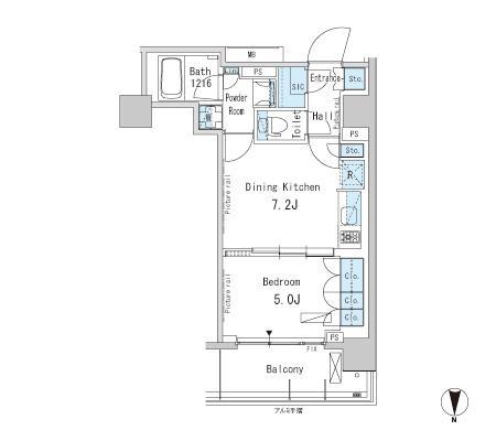 パークアクシス蒲田ステーションゲート1305号室