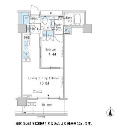パークアクシス蒲田ステーションゲート1307号室