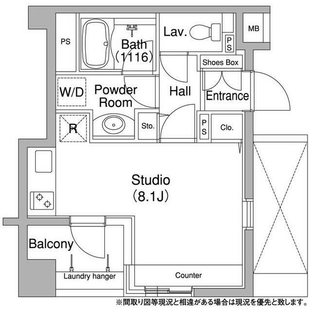 コンフォリア銀座EAST1104号室