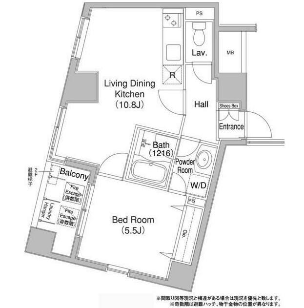 コンフォリア銀座EAST201号室
