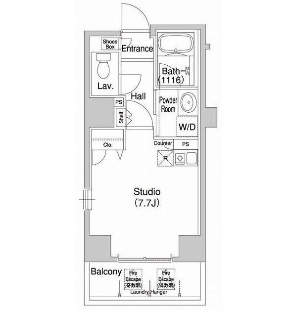 コンフォリア銀座EAST210号室