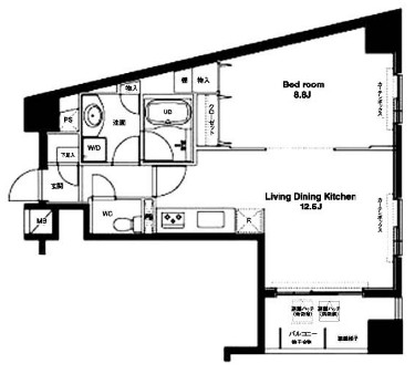 コンフォリア銀座EAST309号室