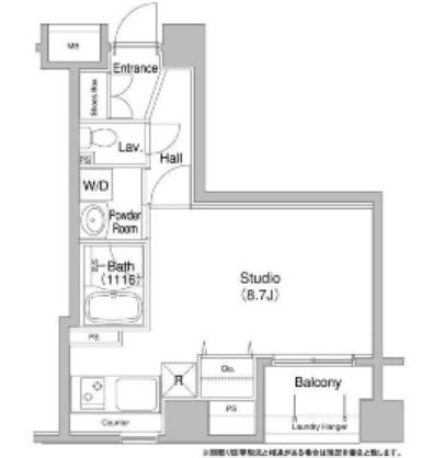 コンフォリア銀座EAST405号室