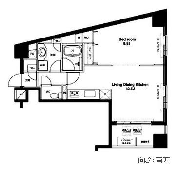 コンフォリア銀座EAST409号室