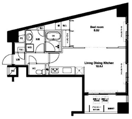 コンフォリア銀座EAST609号室