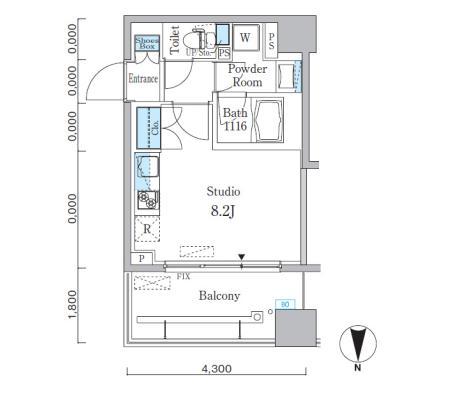 パークキューブ亀戸1007号室