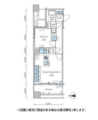 パークキューブ亀戸306号室