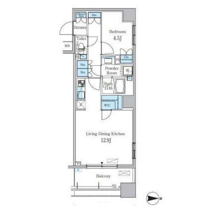 パークキューブ亀戸408号室
