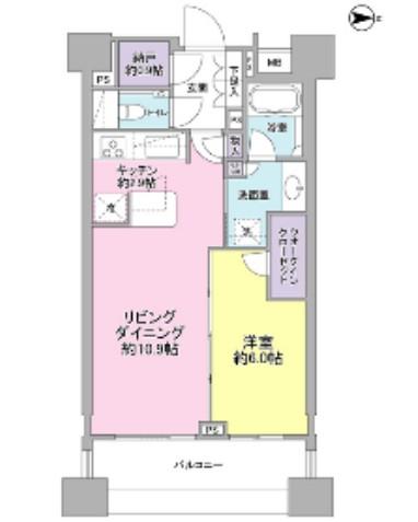 パークハウス千代田富士見303号室