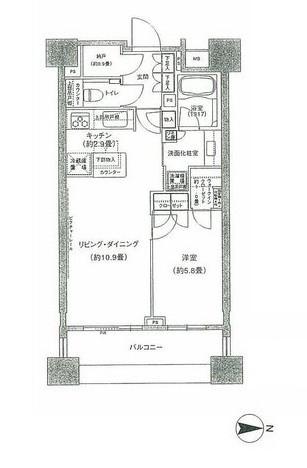 パークハウス千代田富士見502号室