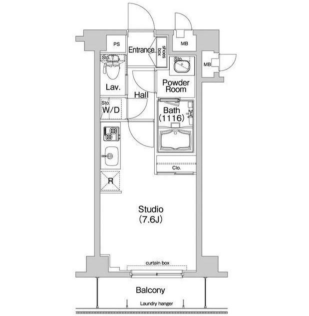 コンフォリア神楽坂203号室
