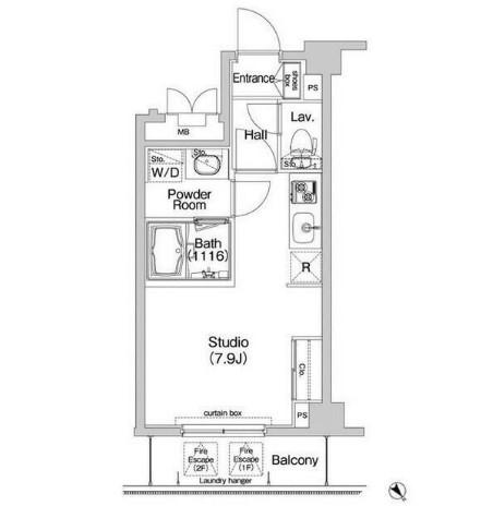 コンフォリア神楽坂204号室