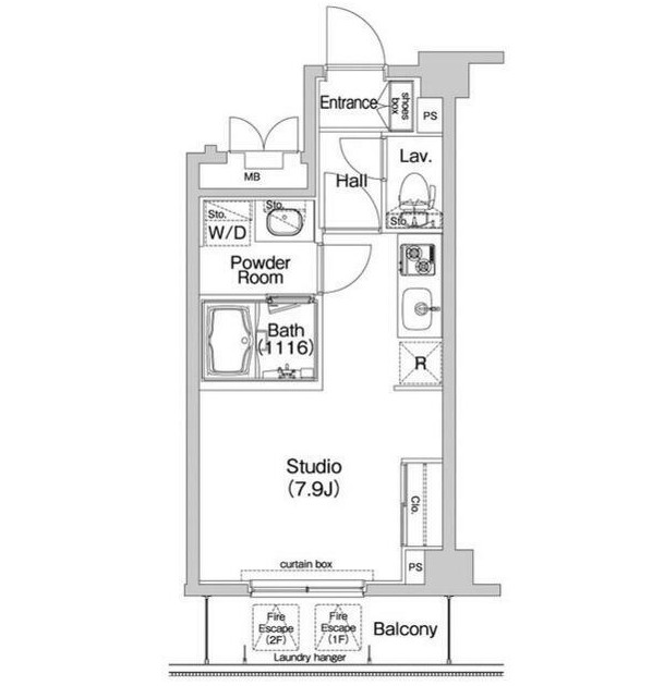 コンフォリア神楽坂304号室